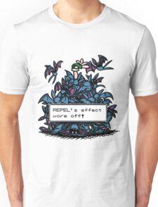 NateWantsToBattle - Repel Wore Off Unisex T-Shirt