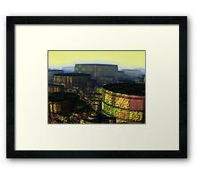 Disaster Area Framed Print