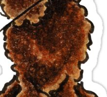 Chocolate Poodle Sweetheart Sticker