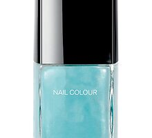 Baby Blue Nail Polish by Heidi Hermes
