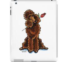 Chocolate Poodle Sweetheart iPad Case/Skin