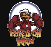 Popeye-on Man by Psychobilly-Tee
