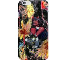 galactic cowboy from hell iPhone Case/Skin