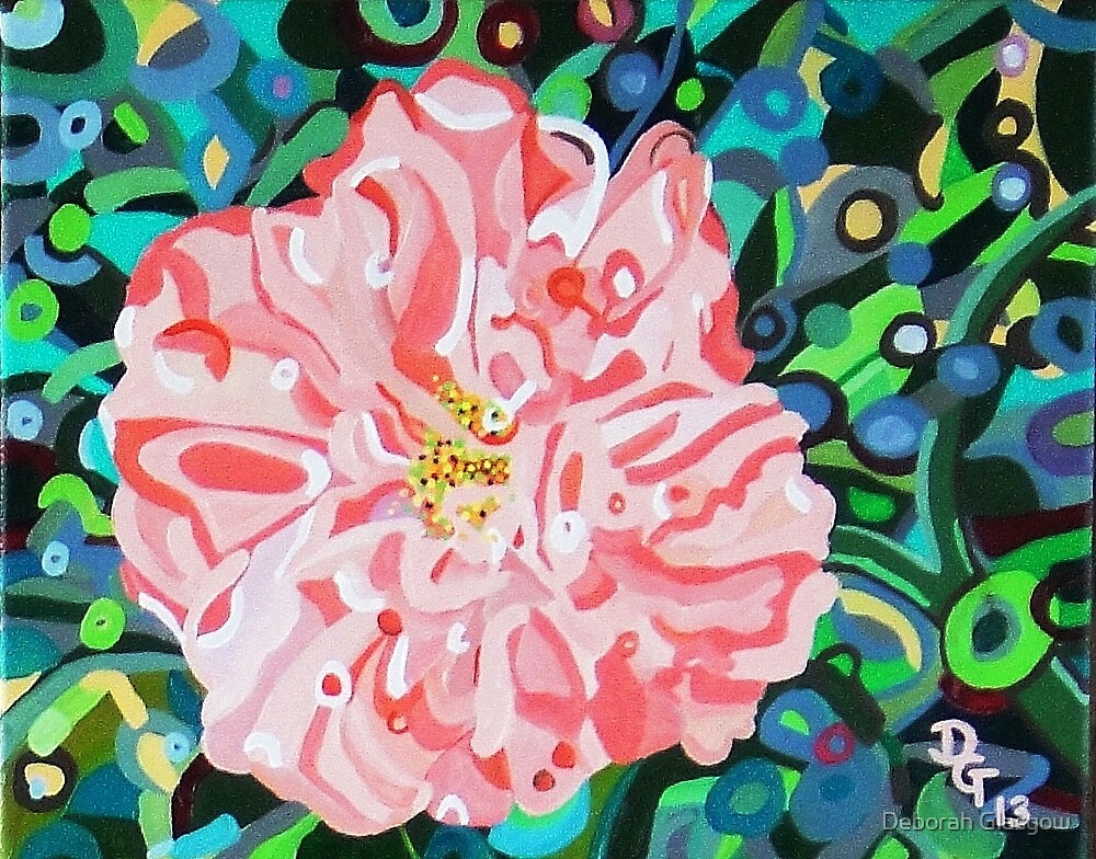 Blushing Camellia    SOLD by Deborah Glasgow