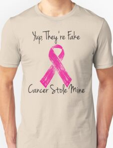 Breast Cancer Survivor Ribbon Unisex T-Shirt