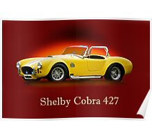 Shelby Cobra 427 w/ ID Poster