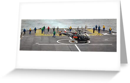 Safety Walkdown - Helicopter Flight Deck by Joshua McDonough Photography
