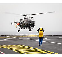 French Aérospatiale Alouette III Helicopter Photographic Print