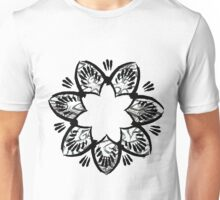 Simplistic and floral Unisex T-Shirt
