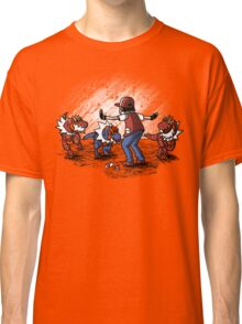 NateWantsToBattle - JurassicMon World Classic T-Shirt