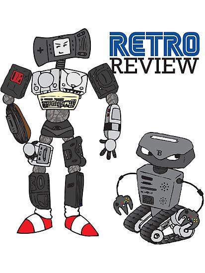 Retro Review Mascot by RetroReview