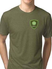Node.js Programmer T-shirt & Hoodie Tri-blend T-Shirt