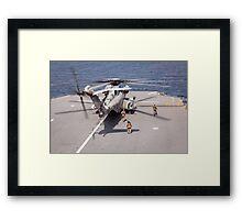 Sikorsky CH-53E Super Stallion Framed Print