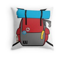 Kai The Hitchhiker Throw Pillow