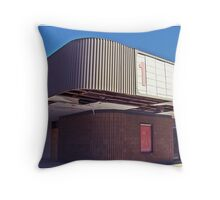 Cinema Decay Throw Pillow