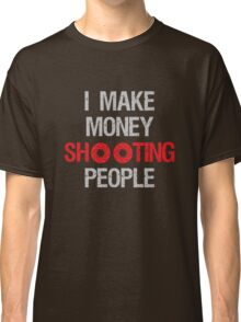 Photographer Shooting People Design Classic T-Shirt