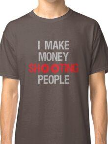 Photographer Shooting People Design Classic T-Shirt