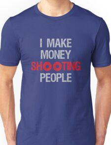 Photographer Shooting People Design Unisex T-Shirt