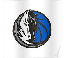 Dallas Mavericks Horse Logo Cool Stuff Poster