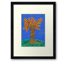 The Autumn Fire Framed Print