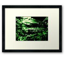opacity Framed Print
