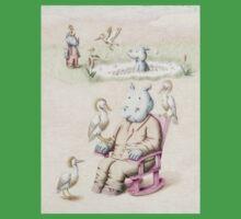Herman the Hippopotamus One Piece - Short Sleeve