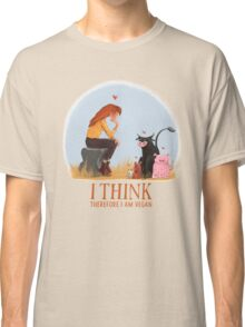I think therefore I am vegan Classic T-Shirt