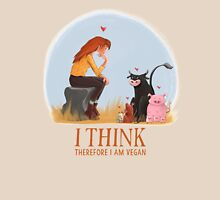 I think therefore I am vegan T-Shirt