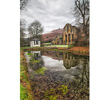 Abbey Reflections Photographic Print