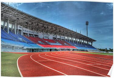 Thomas Robinson Stadium in Nassau, The Bahamas by 242Digital