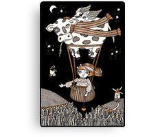 Millies Moo Mobile Canvas Print