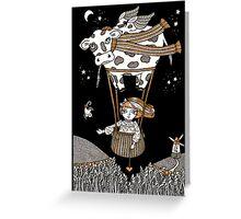 Millies Moo Mobile Greeting Card
