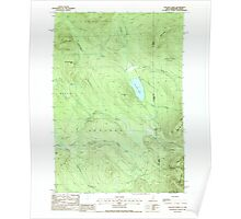 USGS TOPO Map New Hampshire NH Success Pond 329809 1988 24000 Poster