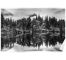Lost Lake - Glacier National Park Poster