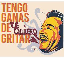 Tengo Ganas de Gritar Photographic Print