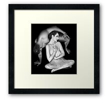 Othello and Desdemona, Vow Framed Print