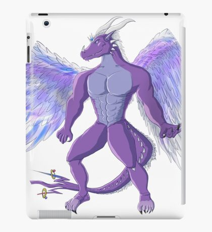 Azure Paragon - Stand Strong and Smile iPad Case/Skin