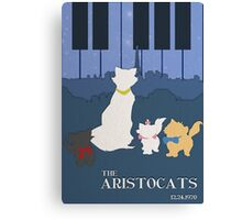 The Aristocats Canvas Print