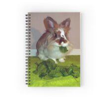 Lionhead Rabbit Spiral Notebook