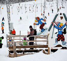 ski area scene by Daidalos