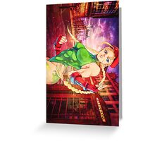 Delta red| Cammy Greeting Card