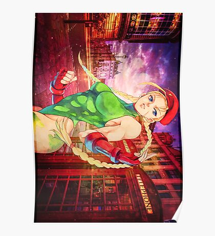 Delta red| Cammy Poster
