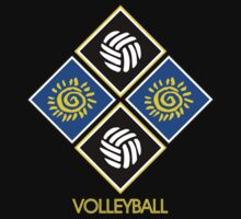 Volleyball Abstract by SportsT-Shirts