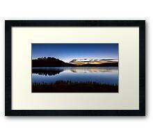 Sunrise - Pretty Valley Pondage Framed Print