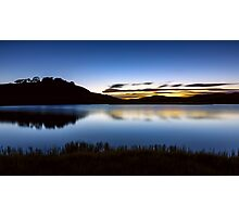 Sunrise - Pretty Valley Pondage Photographic Print