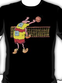 Funny Men's Volleyball T-Shirt