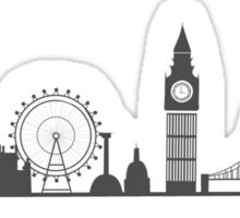 London Cityscape Sticker
