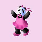 Ballerina Panda by jkartlife