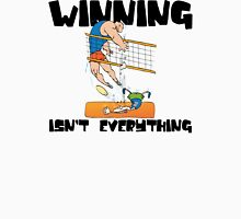 "Very Funny Volleyball ""Winning Isn't Everything"" Womens Fitted T-Shirt"