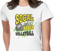 Southern California Beach Volleyball Womens Fitted T-Shirt